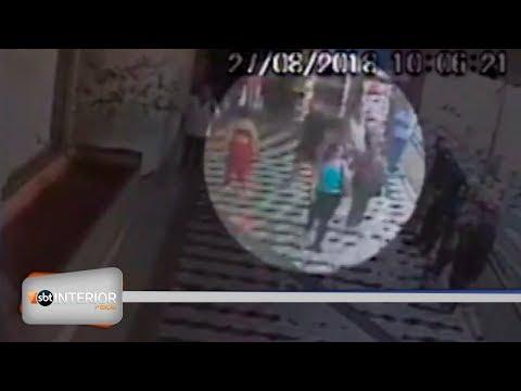 Câmeras flagram crime no terminal de Rio Preto