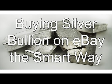 Buying Silver Bullion on eBay the Smart Way