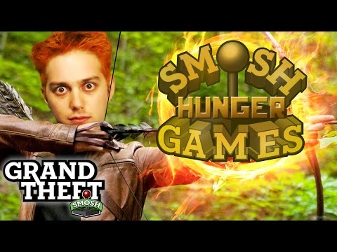 FIRST ANNUAL SMOSH GAMES HUNGER GAMES (Grand Theft Smosh)