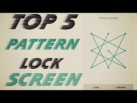 Top 5 Pattern lock BEST AND IMPOSSIBLE!!!¡¡¡{2017} #1