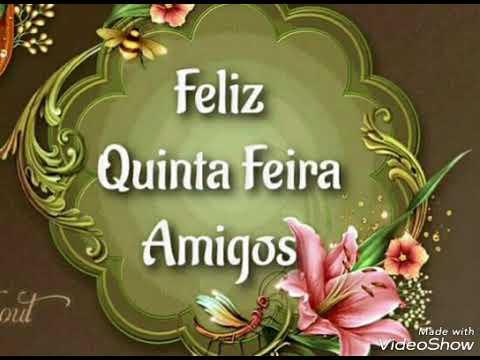 Feliz Quinta-feira -Abençoada Quinta-feira - Bom dia - Mensagem ...