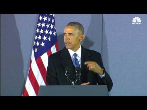 Former President Barack Obama's Final...