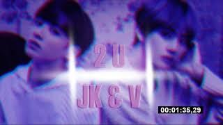 3D Audio Jungkook V BTS 2U cover Use headphones