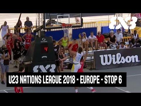 RE-LIVE -FIBA 3x3 U23 Nations League 2018 - Europe - Stop 6 - Debrecen, Hungary