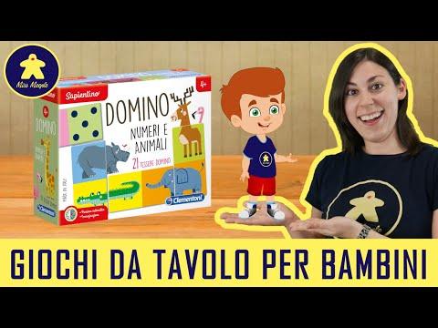 Domino Numeri e Animali - Gioco da Tavolo per Bambini - Clementoni 4+ anni