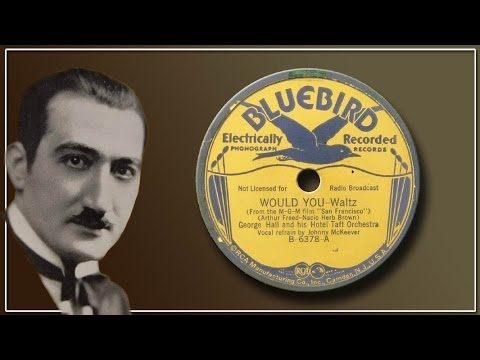 Download George Hall, Hotel Taft Orch - Would You? (1936)