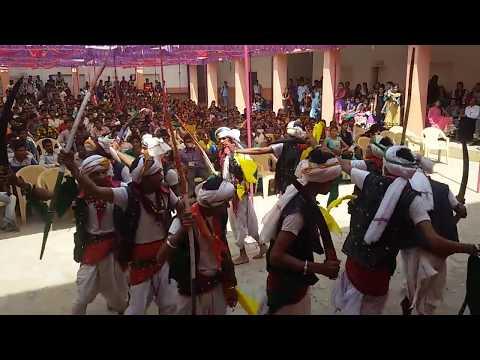 Timli adivasi dance at dahod college by Nrj