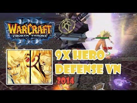 Warcraft 3: 9x Hero Defense VN 2014 - Hướng dẫn cách chơi map 9x Hero Defense VN 2014   Mad Tigerrr