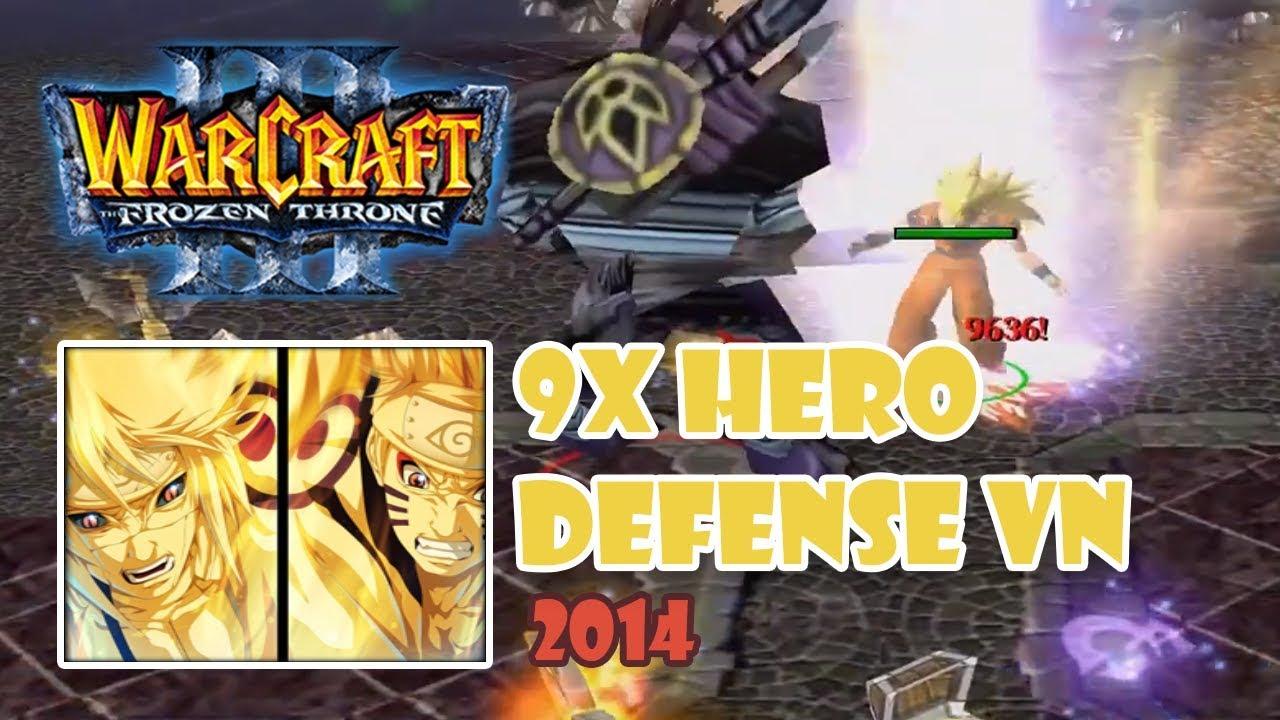 Warcraft 3: 9x Hero Defense VN 2014 – Hướng dẫn cách chơi map 9x Hero Defense VN 2014   Mad Tigerrr