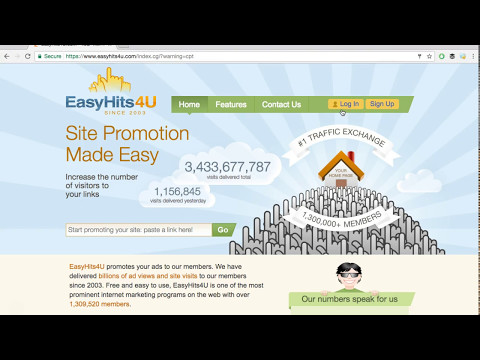 How To Use EasyHits4U to Get Traffic To Your Offer - Quality Leads