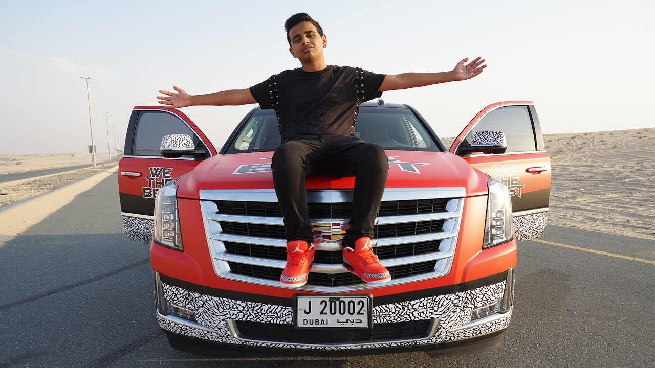 Richest Kid In Dubai >> MY NEW AIR JORDAN CAR GRATEFUL 3S !!! - YouTube