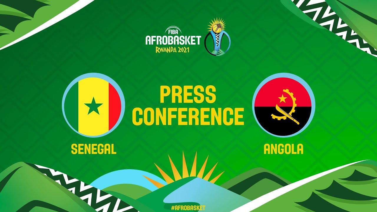 Senegal v Angola - Press Conference Part 1 - FIBA AfroBasket 2021