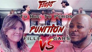 vuclip ROUND 3 : TU RIS, TU PERDS, ON T'DEFONCE ! Filles vs Garçons  MMA ! ( version longue )