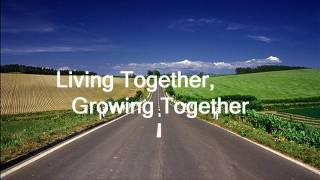 Watch Burt Bacharach Living Together Growing Together video