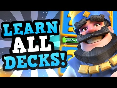 SURPRISING A PRO w/ 2 TOP DECKS TO PLAY LIVE in Clash Royale