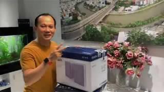 Khui hộp và trải nghiệm nhanh dàn âm thanh mini Denon CEOL-N10