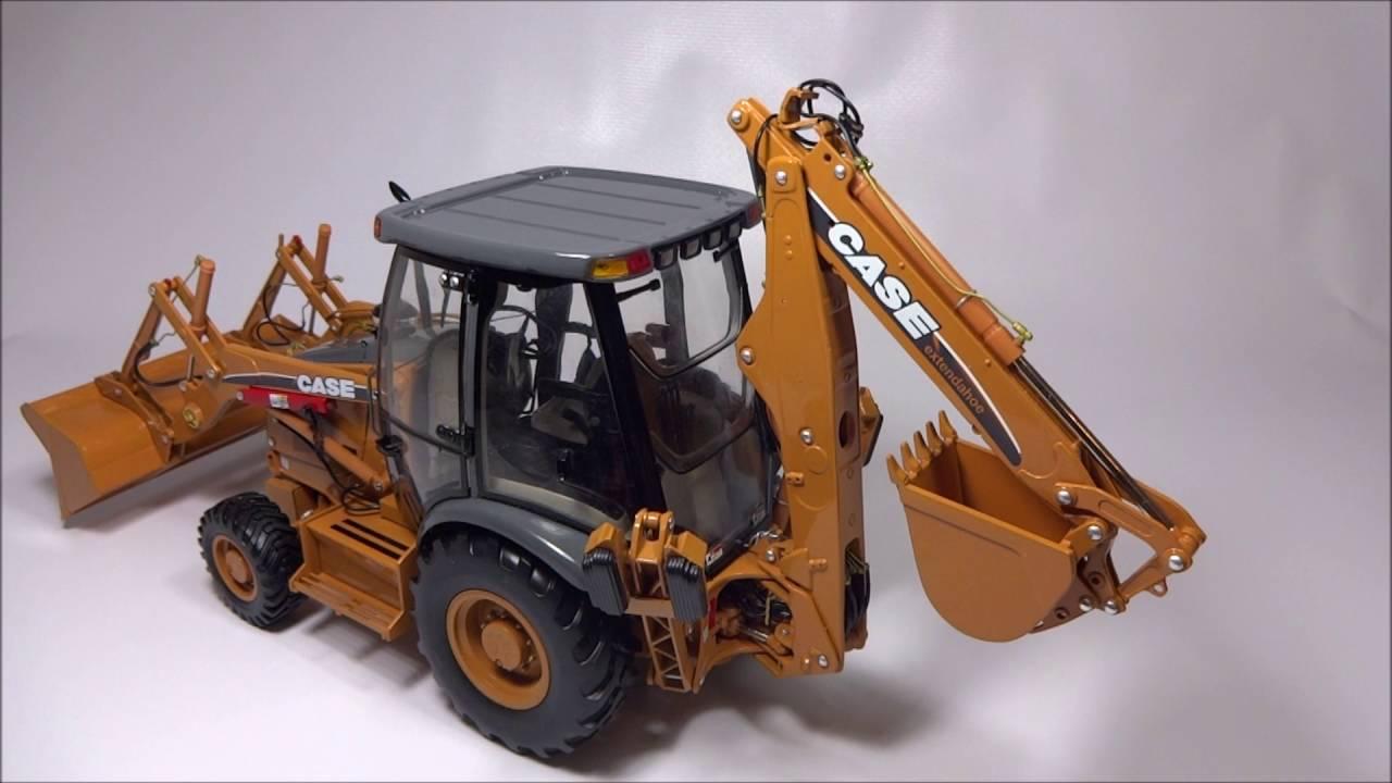 1/16 Case 580 Super M Tractor Loader Backhoe Ertl Precision #1
