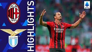 Milan 2 0 Lazio Milan triumph at San Siro Serie A 2021 22