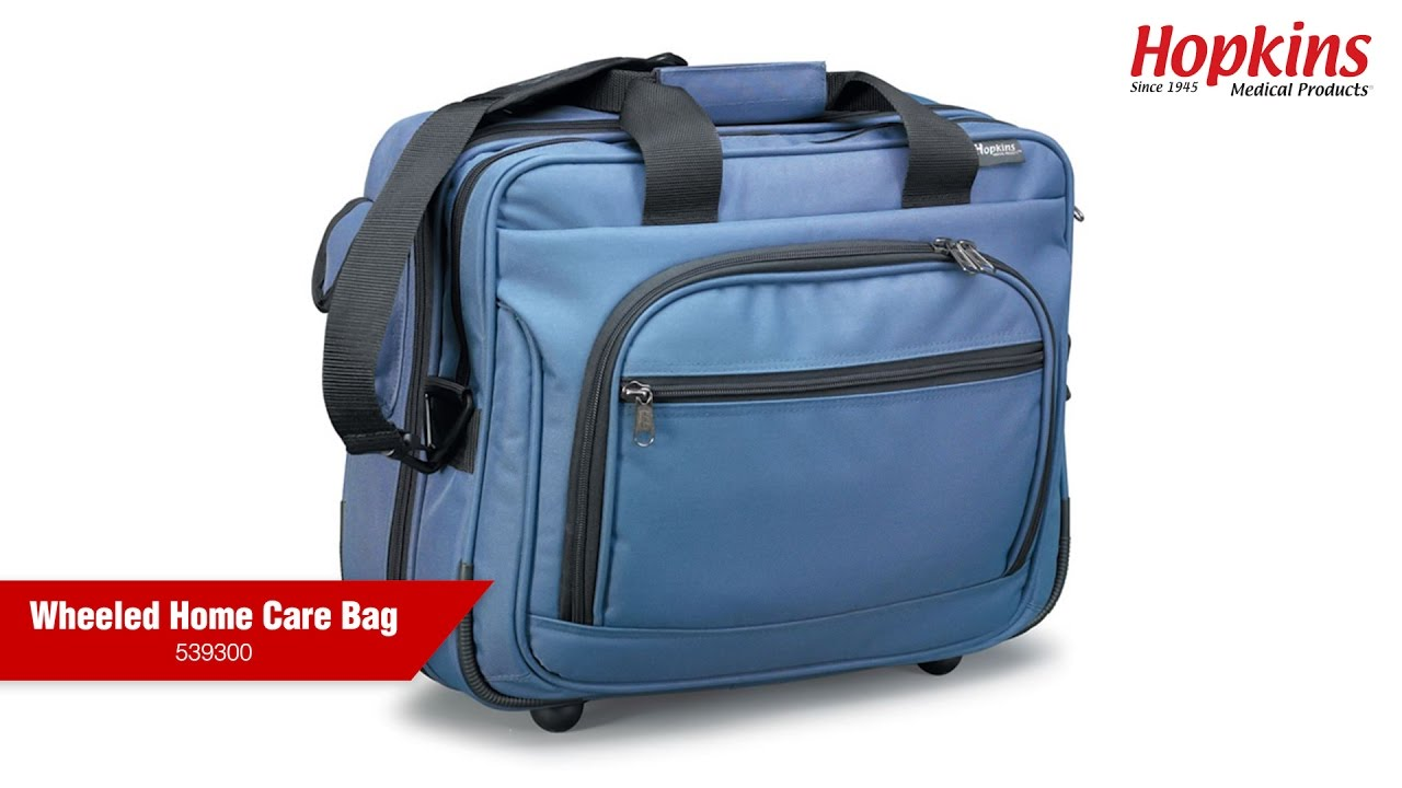 Wheeled Home Care Bag Hopkins Medical Products