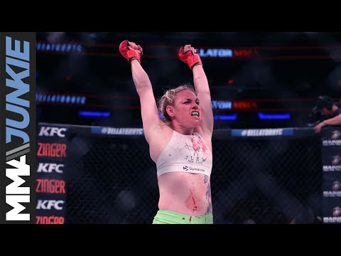 Heather Hardy on MMA debut win at Bellator 180: 'I think I just fell in love'