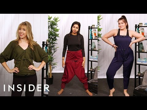 Travel Pants Convert Into 10 Different Outfits