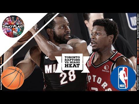 Toronto Raptors vs Miami Heat - Full Game Highlights | August 3, 2020 | 2019-20 NBA Season