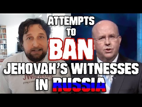 Attempts to Ban Jehovah's Witnesses in Russia - Cedars' vlog no. 152
