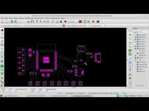 KiCad layout workshop live demo