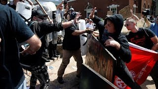 Violence erupts at white nationalist rally in Virginia