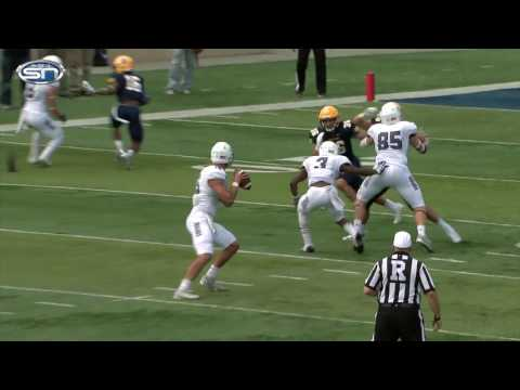 Game Recap: University of Sioux Falls at Augustana University college football  10-1-16