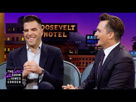 James Corden vs. Zach Quinto Was Jedi Mind Tricked In Marrakesh