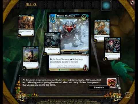 World Of Warcraft Trading Card Game Interactive How To Play Demo