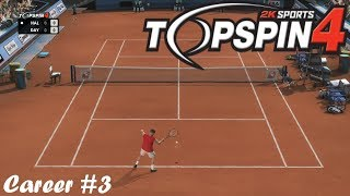 Top Spin 4 - Houston Open Semi Final - Career #3 - PS3 Gameplay