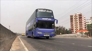 Luxurious & Comfortable Ac Buses Live View In Bangladesh part-9