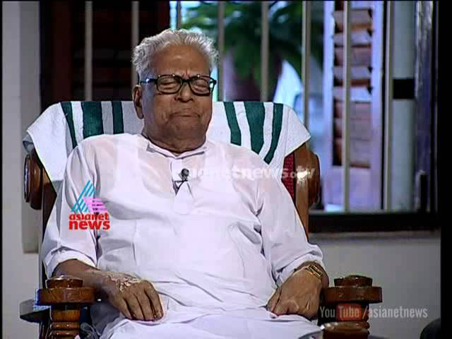 V S Achuthanandan: Exclusive Interview with M G Radhakrishnan