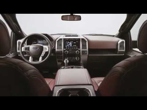 2018 Ford F150 Interior >> 2018 Ford F 150 Interior Footage