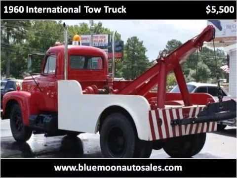 Used Cars Jackson Tn >> 1960 International Tow Truck Used Cars Jackson TN - YouTube