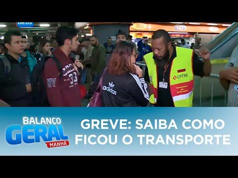 Greve: saiba como está o transporte público nesta sexta-feira (14)