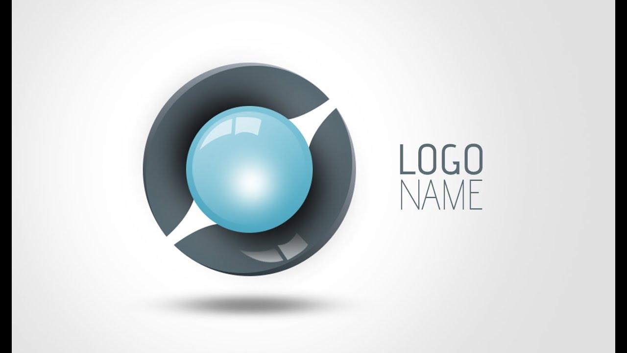 Adobe photoshop tutorials how to make 3d logo design 03 youtube baditri Images