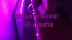 KorsoTV avaa: LED-nauha