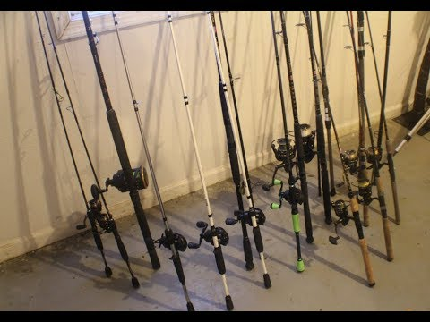 ROD & REEL Arsenal For  Fresh And Saltwater Fishing   What To Buy And What Not To + House Tour