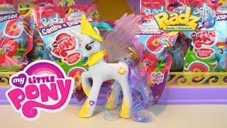 My Little Pony Friendship is Magic Toys Radz Candy Dispenser Surprise Eggs Princess Celestia