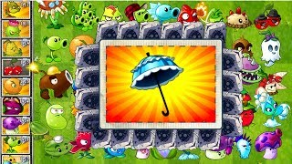 Every Plant Power-Up! vs PARASOL ZOMBIE in NEW Plants vs Zombies 0