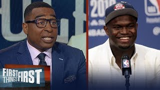 Zion will have 'sustainable success' with the Pelicans - Cris Carter | NBA | FIRST THINGS FIRST