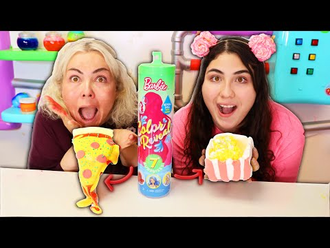 TURN THIS BARBIE COLOR REVEAL INTO SLIME CHALLENGE! Slimeatory #637