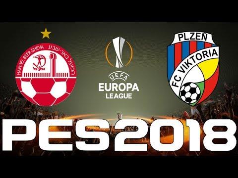 UEFA Europa League - PES 2018 - HAPOEL BEER-SHEVA vs VIKTORIA PLZEN