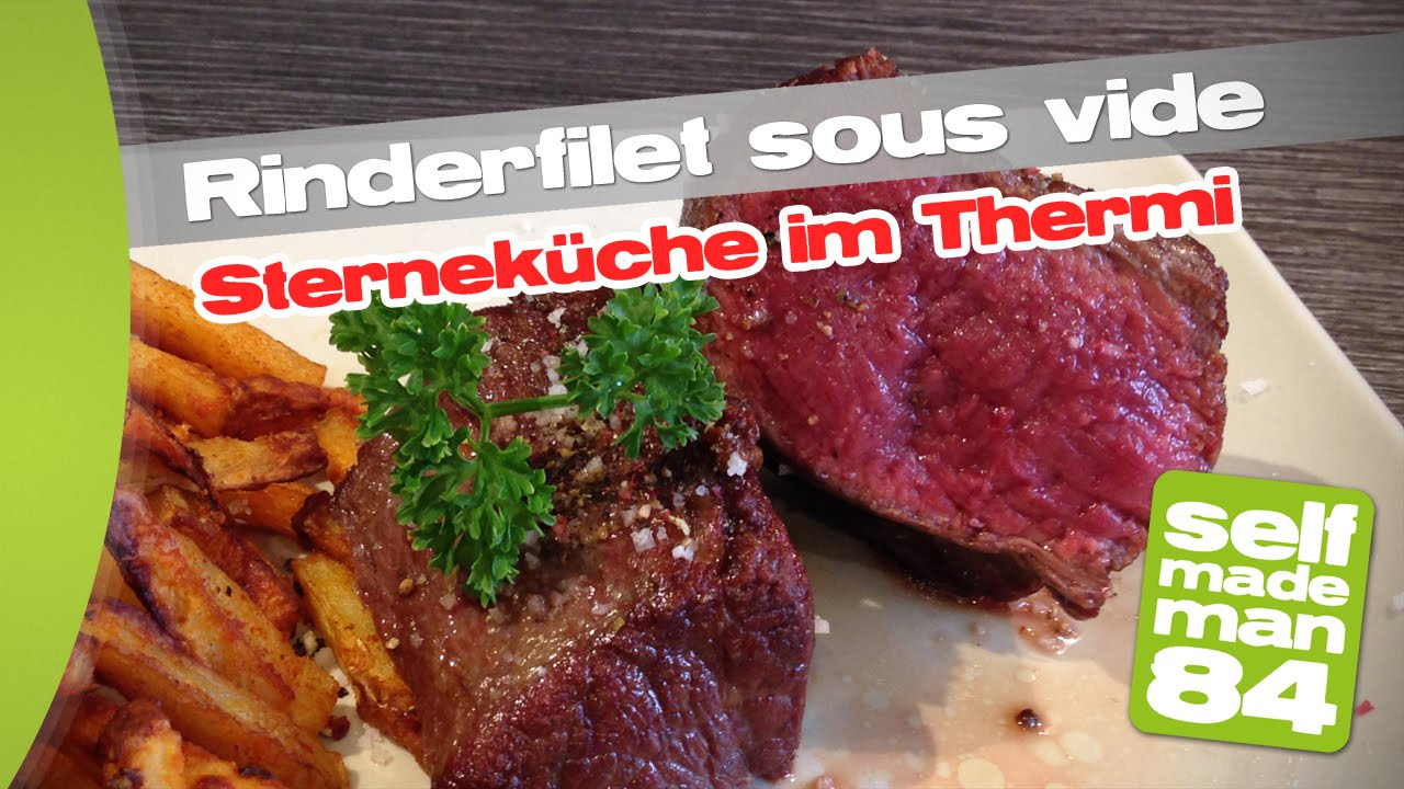 thermomix tm5 rinderfilet sous vide sternek che mit dem thermi selfmademan84 youtube. Black Bedroom Furniture Sets. Home Design Ideas