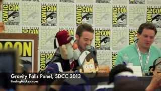 Gravity Falls Panel, SDCC 2013