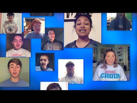 Mark Morris High School: Unclouded Day, Virtual Choir