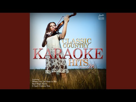 I Wonder (In the Style of Kellie Pickler) (Karaoke Version)
